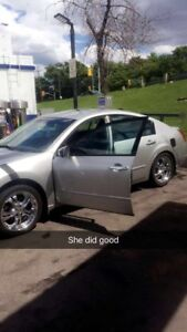 Selling it for trade my 2005 nissan maxima
