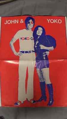 Rare John Lennon & Yoko Ono 1971 Circus Raves Magazine Near Mint