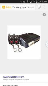 Installation of remote starter auto start pro start