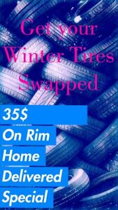 Install Tires that are on rims Sale!
