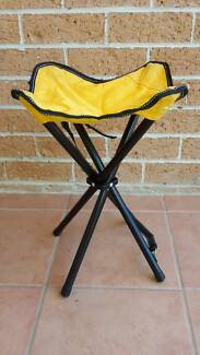Portable Carry-on Tripod Stool for Camping Picnic Homebush West Strathfield Area Preview