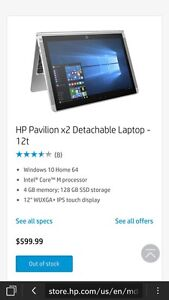 "Hp 10"" touch."