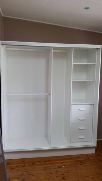 Freestanding Wardrobe Up To 1800mm Wide Supply Only Pickup