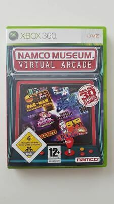 Namco Museum Virtual Arcade Xbox 360 VGC PAL