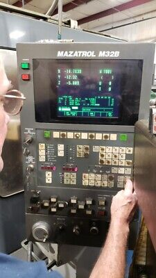 12 Monitor For Mazak Vtc-20c- Lcd Replacement- Bolts Into Operator Panel-cnc