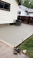 DRIVEWAYS, PATIOS, SIDEWALKS, CONCRETE REMOVAL,  and more!