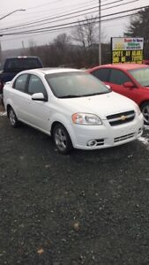 Chev Aveo LT low kms