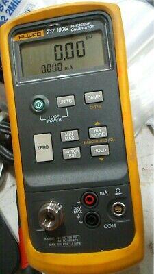 Fluke 717 100g Pressure Calibrator -12 To 100 Psi Free Shipping Unit 5