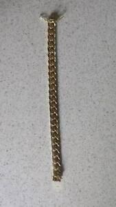 Solid gents handmade 18 ct hallmarked yellow gold bracelet Alexandra Hills Redland Area Preview