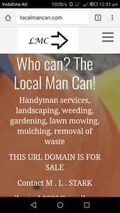 localmancan.com website URL4sale Black Hill Ballarat City Preview