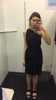 710f8391619 SABA silk black dress size 8