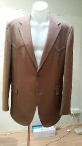 Retro Levis chocolate brown jacket. size 42L Morley Bayswater Area Preview