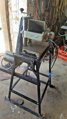 Williams Hussey Molder Planer W-7 With 1 Hp 1 Phase Motor