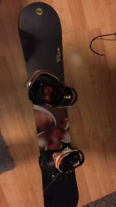 Rossignol snowboard & 2 pairs of boots