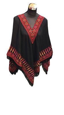 Embroider Palestinian Jordanian blouse Tunic with Red Embroidery arabic dress segunda mano  Embacar hacia Argentina