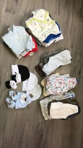 0 - 3 Month Boys Clothing