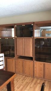 Large 3 piece wall unit