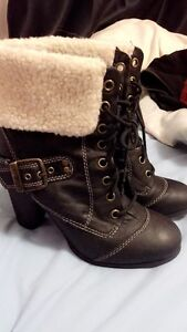 Guess Boots Size 8 Peterborough Peterborough Area image 1