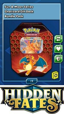 1 x Pokemon TCGO Charizard-GX Deck - Digital Online - In-game Trade