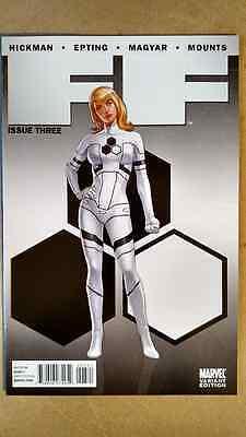 Ff  3 1St Print  Sue Storm Variant Marvel Comics  2011  Fantastic Four