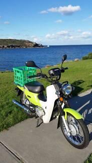 Honda NBC110 SUPER CUB Postie Motorbike - 12 months rego