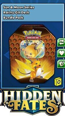 1 x Pokemon TCGO Raichu-GX deck digital online - Ingame trade