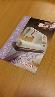 Immaculately kept Janome 'Memory Craft 10000' Sewing Machine Eastwood Ryde Area Preview