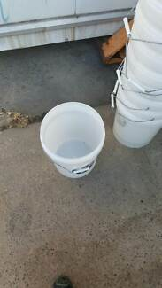 Plastic Bucket with Lid for Sale Holroyd Parramatta Area Preview