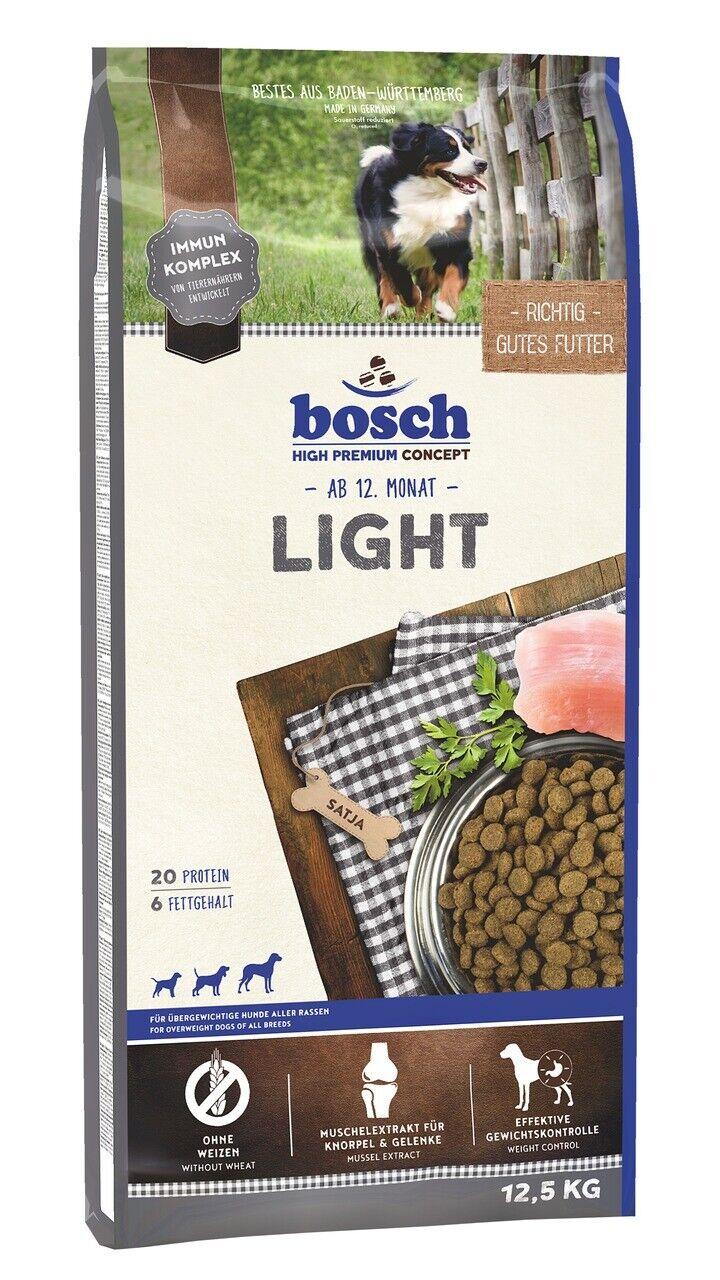 bosch Light 12,5kg Diät Hundefutter Trockenfutter für übergewichtige Hunde