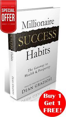 PDF Millionaire Success Habits by Dean Graziosi ebooks MRR Free Bonus ebooks