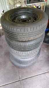 Ford falcon rims and tyres 205 65 15 Beechboro Swan Area Preview