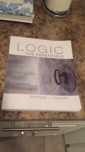 Logic: The essentials Patrick J Hurley