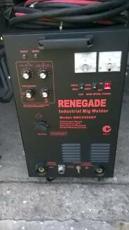 industrial mig welder never used 250 amp single faze $1,800 neg