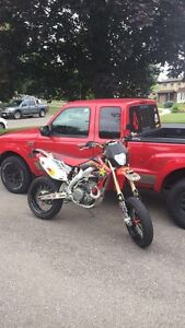 Crf450x Supermoto (Street legal) OBO