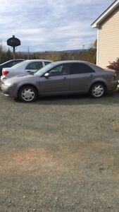 2007 Mazda6 blow mottoe