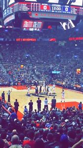 Raptors vs Portland - Lower bowl