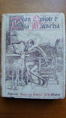 DON QUIJOTE DE LA MANCHA. Miguel de Cervantes. Editorial CALLEJA segunda mano  Sevilla