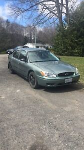 GREAT WINTER CAR 2006 Ford Taurus