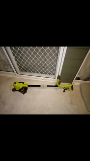 RYOBI Electric Line Trimmer and Edge Trimmer-USED ONCE