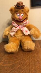 fozzie from the muppets vintage plush