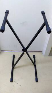 KEYBOARD PIANO ORGAN STAND SINGLE OR DOUBLE BRACE AVAILABLE