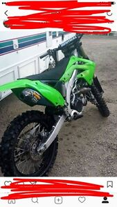 2012 Kx450f very mint. Needs a quick fix