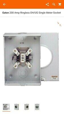 Eaton 200 Amp Meter Socket