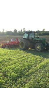 Wanted: Farm land to lease/rent/sharecrop