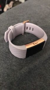 Fitbit Charge 2 Special Edition 22K Rose Gold $200 OBO