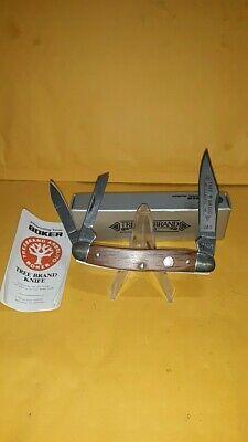 BOKER TREE BRAND CLASSIC SOLINGEN GERMANY 280 3 BLADE WOOD WHITTLER KNIFE W/BOX