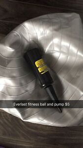 Everlast fitness ball, with pump