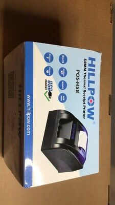 Hillpow 58mm Usb Thermal Receipt Printer Brand New Fast Shipping