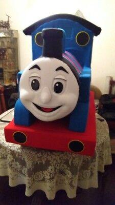 Thomas, The Train Maskottchen Kostüm Party Charakter Geburtstag - Geburtstag Anzug Kostüme