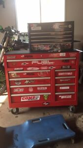 Toolbox and mostly Snap-On tools